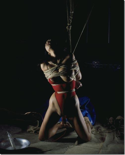 【SM緊縛エロ画像】段々過激になるプレイにも股間を濡らす人妻達21
