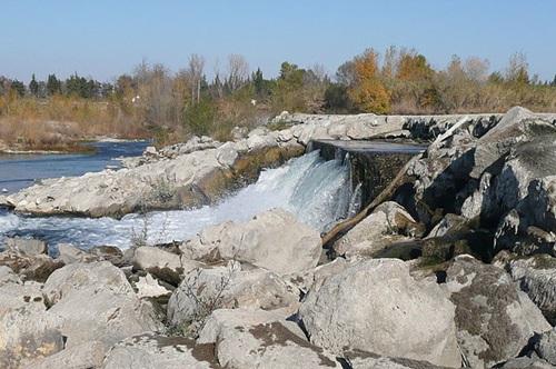 デュランス河のダム