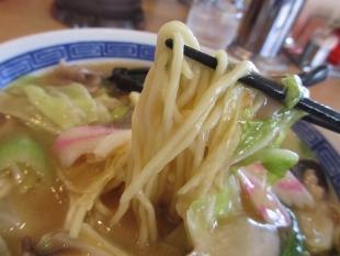 ダルマ食堂笹口 五目アンカケラーメン 麺
