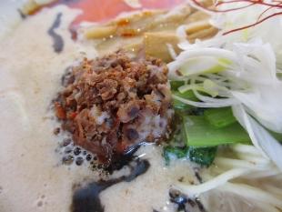 麺や来味弁天橋店 担々麺 具