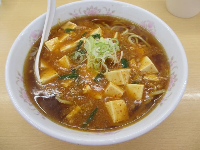 正味 辛肉麻婆麺