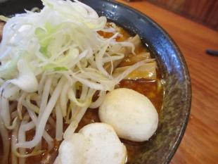 麺や来味大形 赤辛麺 具