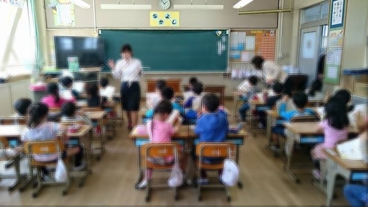 初めての授業参観