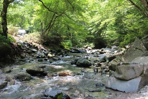 キャンプ川3