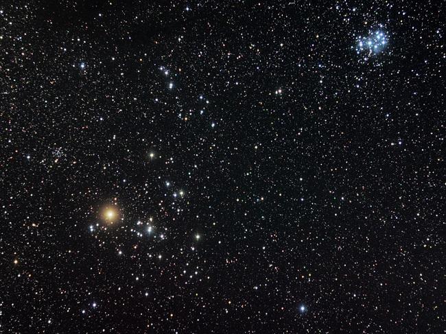 バージルの中に広がる夜空