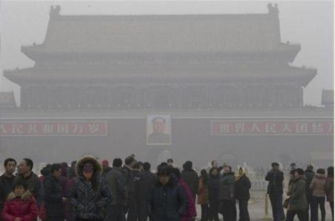 中国の大気汚染の様子1