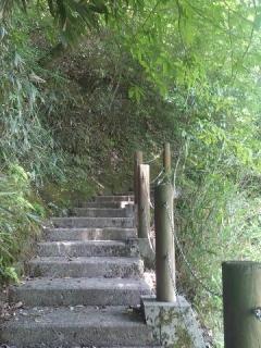 生目さん階段2
