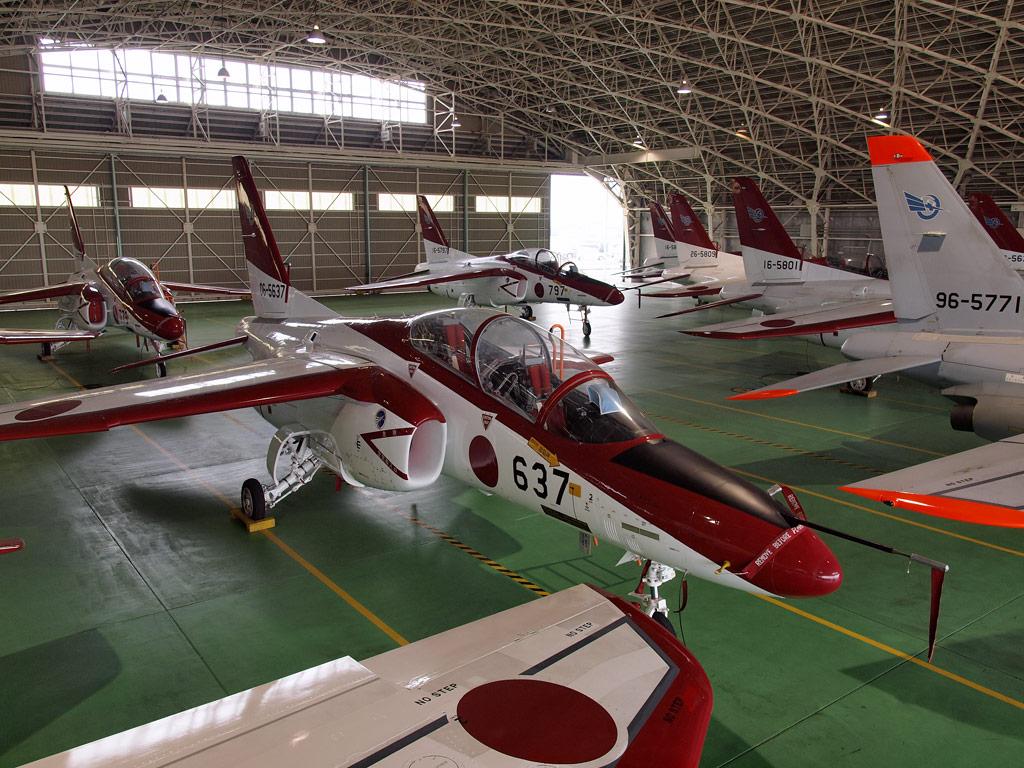 第1飛行教育隊 格納庫