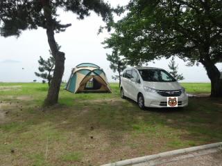 マキノサニービーチ高木浜オートキャンプ場