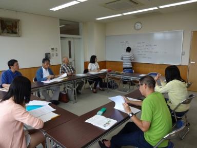 奥田先生を委員長に推進委員会を開催