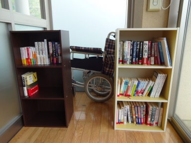 田上ふれあい図書・フリー交換所です。