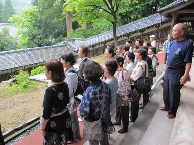 永平寺の素晴らしい庭も堪能