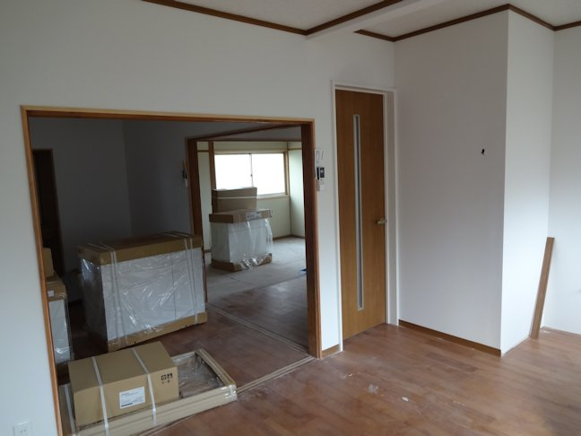 Oアパート改修工事~内装工事完了