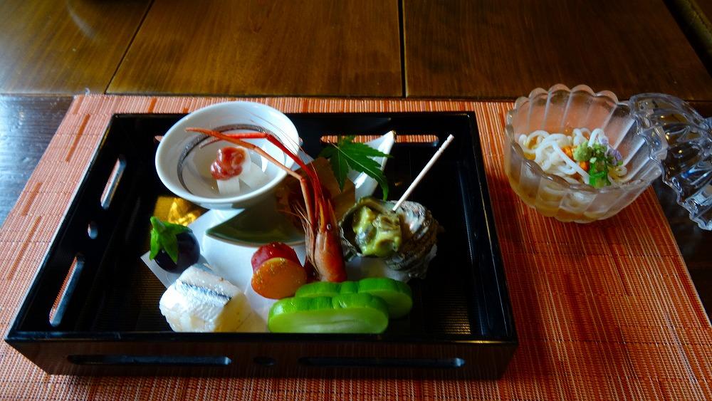 無雙庵枇杷 夕食編 (2015年7月)