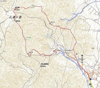 山遊人の徒然日記 アセビの花咲く入道ヶ岳